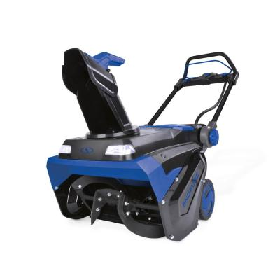 21 in. 100-Volt Brushless Lithium-iON Single-Stage Cordless Electric Snow Blower (Tool Only)