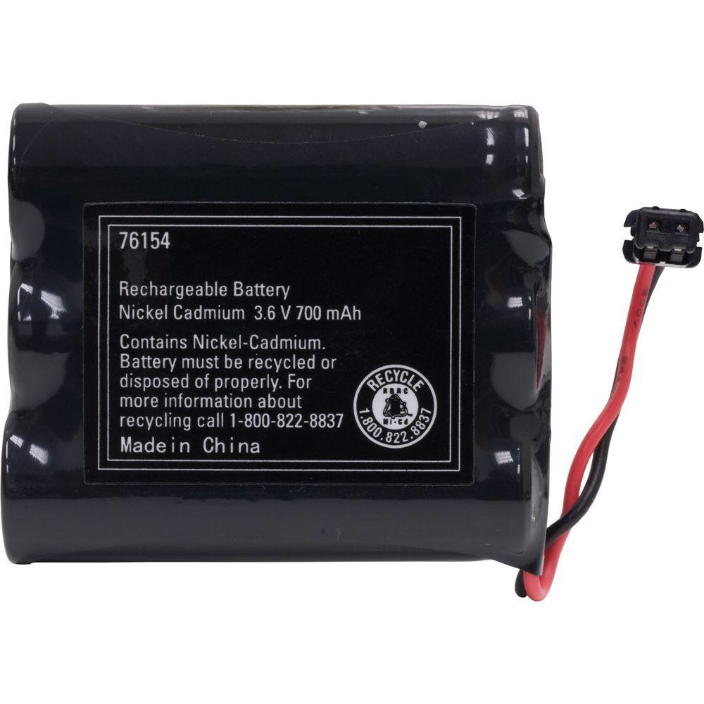 Nicad 3.6-Volt 700mAh Cordless Phone Battery
