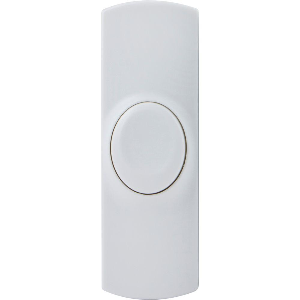 Wireless Replacement Doorbell Push Button - White