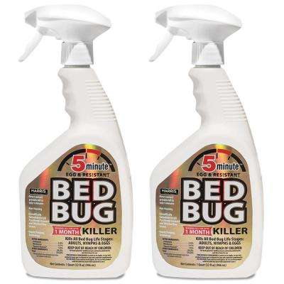 32 oz. 5-Minute Bed Bug Killer (2-Pack)