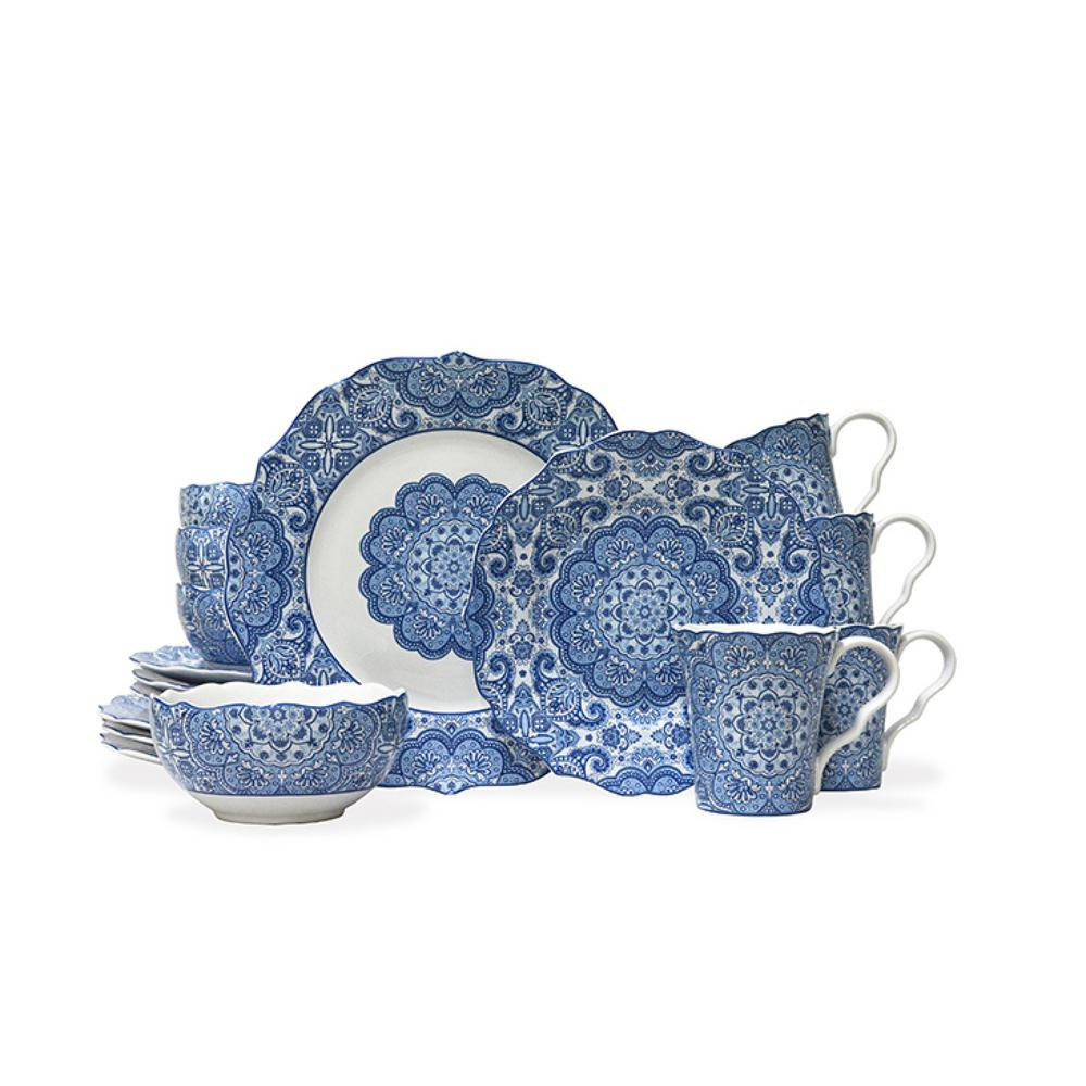 Why register -  Wedding Soiree Blog by K'Mich, Philadelphia's premier resource for wedding planning and inspiration - blue china 16 piece dinnerware set - the home depot