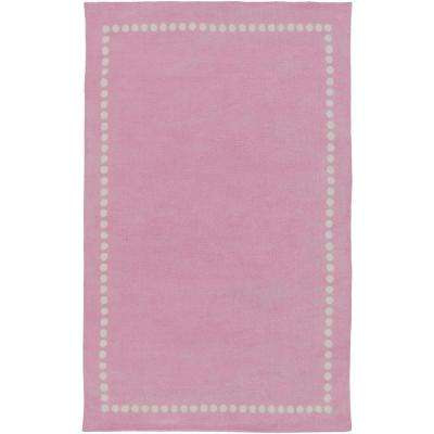 Abigail Bright Pink 5 ft. x 8 ft. Indoor Area Rug