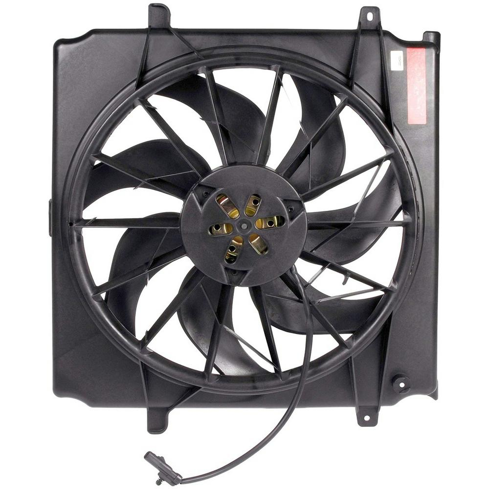 Oe Solutions Radiator Fan Embly Without Controller 2002 2003 Jeep Liberty