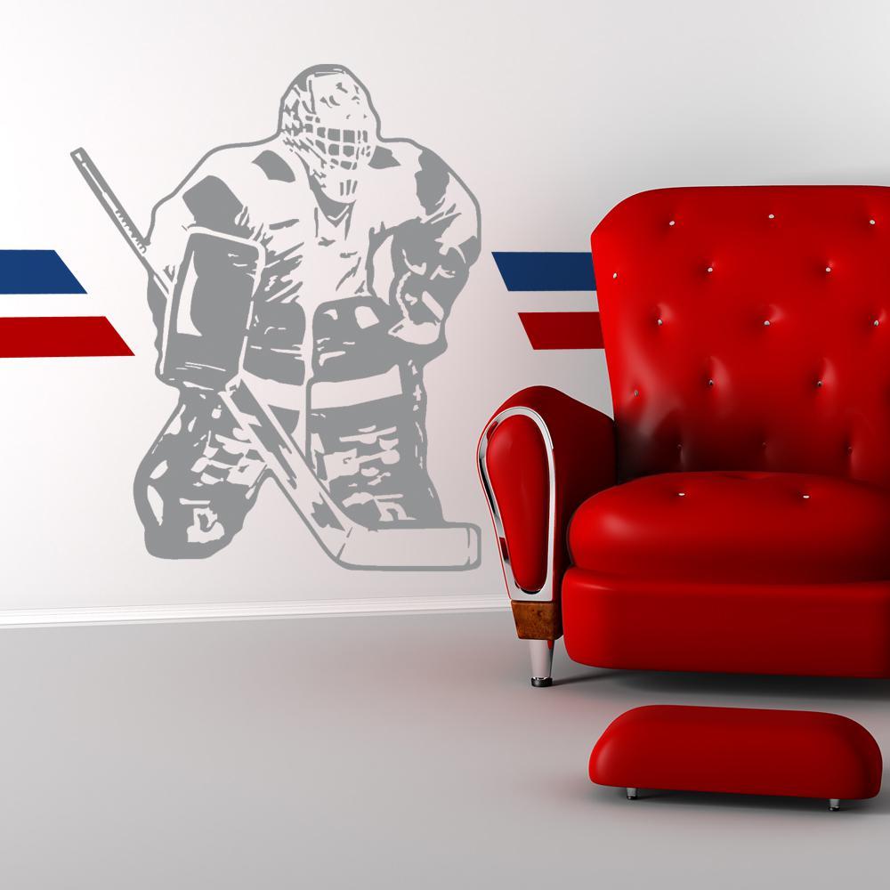 Hockey Goalie Sudden Shadow