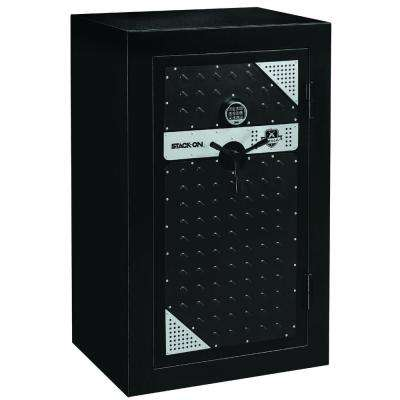 Tactical 20-Gun Fire-Resistant Safe with Electronic Lock and Door Storage