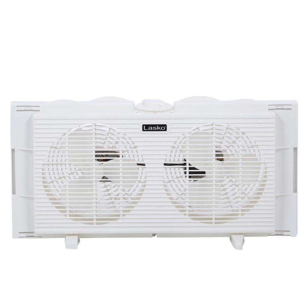 Twin Window Fan  sc 1 st  Home Depot & Lasko 7 in. Twin Window Fan-2137 - The Home Depot