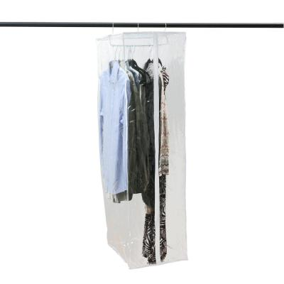 15 in. x 20 in. x 54 in. Crystal Clear Hanging Garment Closet