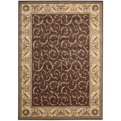 Somerset Brown 5 ft. 3 in. x 7 ft. 5 in. Area Rug