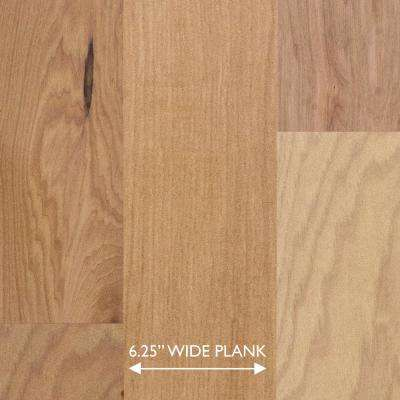 Hickory Sea Mist 3/8 in. Thick x 6-1/4 in. Wide x Random Length Engineered Click Hardwood Flooring (32.2 sq. ft. / case)