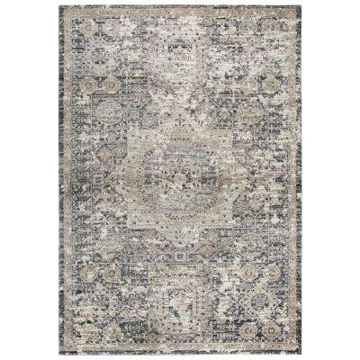 Panache Gray 7 ft. 10 in. x 10 ft. 10 in. Area Rug