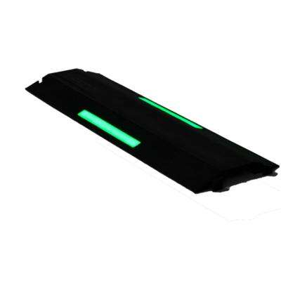 3 ft. Single Channel 4 in. Wire/Cord Channel with Glow in the Dark Strip, Black