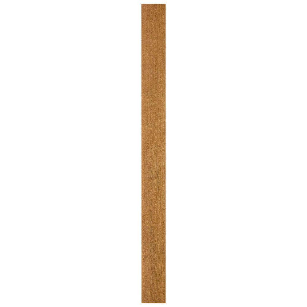 Hampton Bay 3x36x0.75 in. Cabinet Filler in Medium Oak