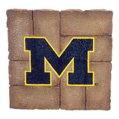 University of Michigan 12 in. x 12 in. Decorative Garden Stepping Stone