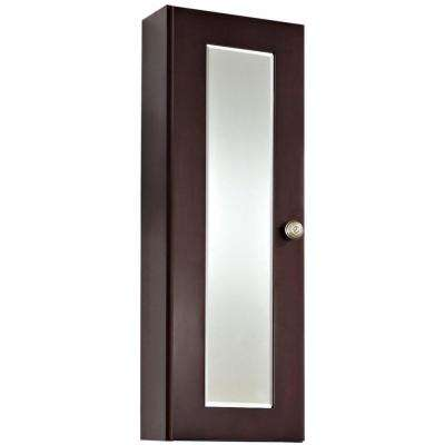 16-Gauge-Sinks 12 in. x 36 in. Surface-Mount Medicine Cabinet in Lacquer-Stain