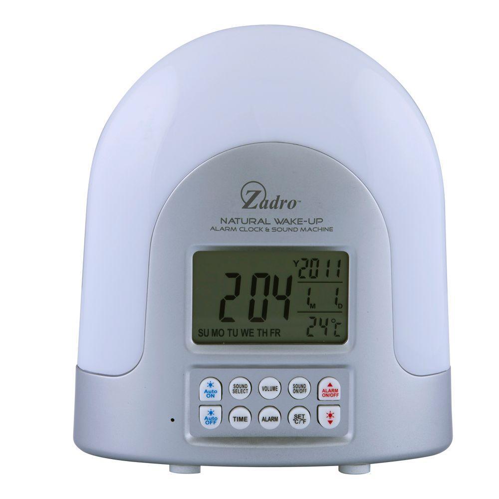 Zadro Natural Sunlight Alarm Clock