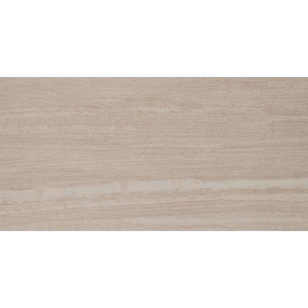 Orion Blanco 16 in. x 32 in. Glazed Porcelain Floor and