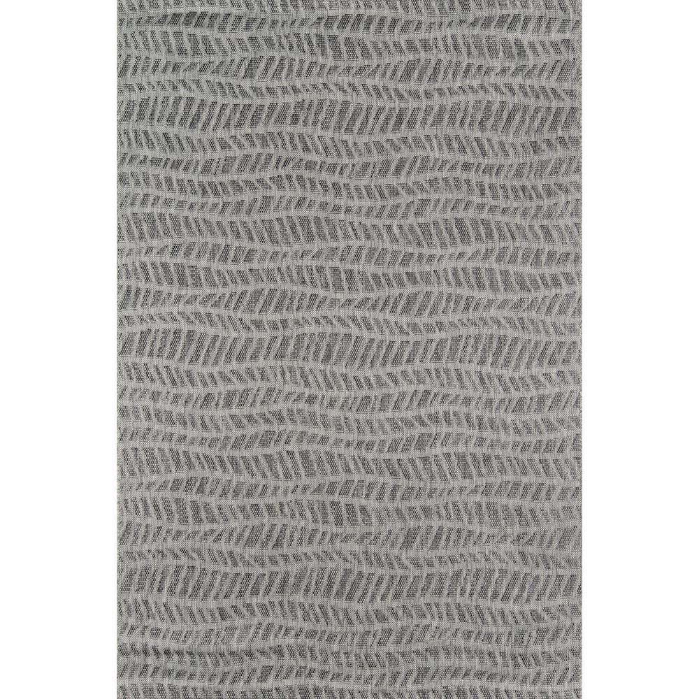 Emilia Grey 6 ft. 7 in. x 9 ft. 6 in. Indoor/Outdoor Area Rug