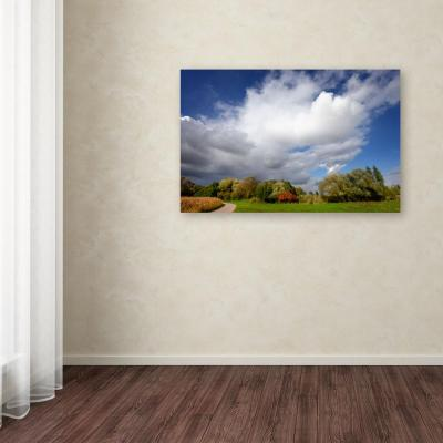 """14 in. x 19 in. """"Dust in the Wind"""" by Philippe Sainte-Laudy Printed Canvas Wall Art"""
