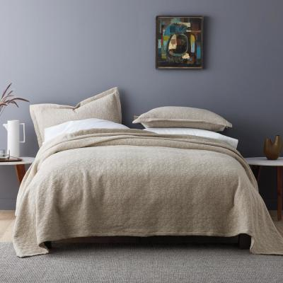 Winfield Solid Cotton Coverlet