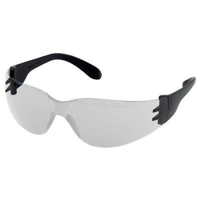 Iprotect Slick Eyewear, Black Temples/Clear Non-Stick Lens