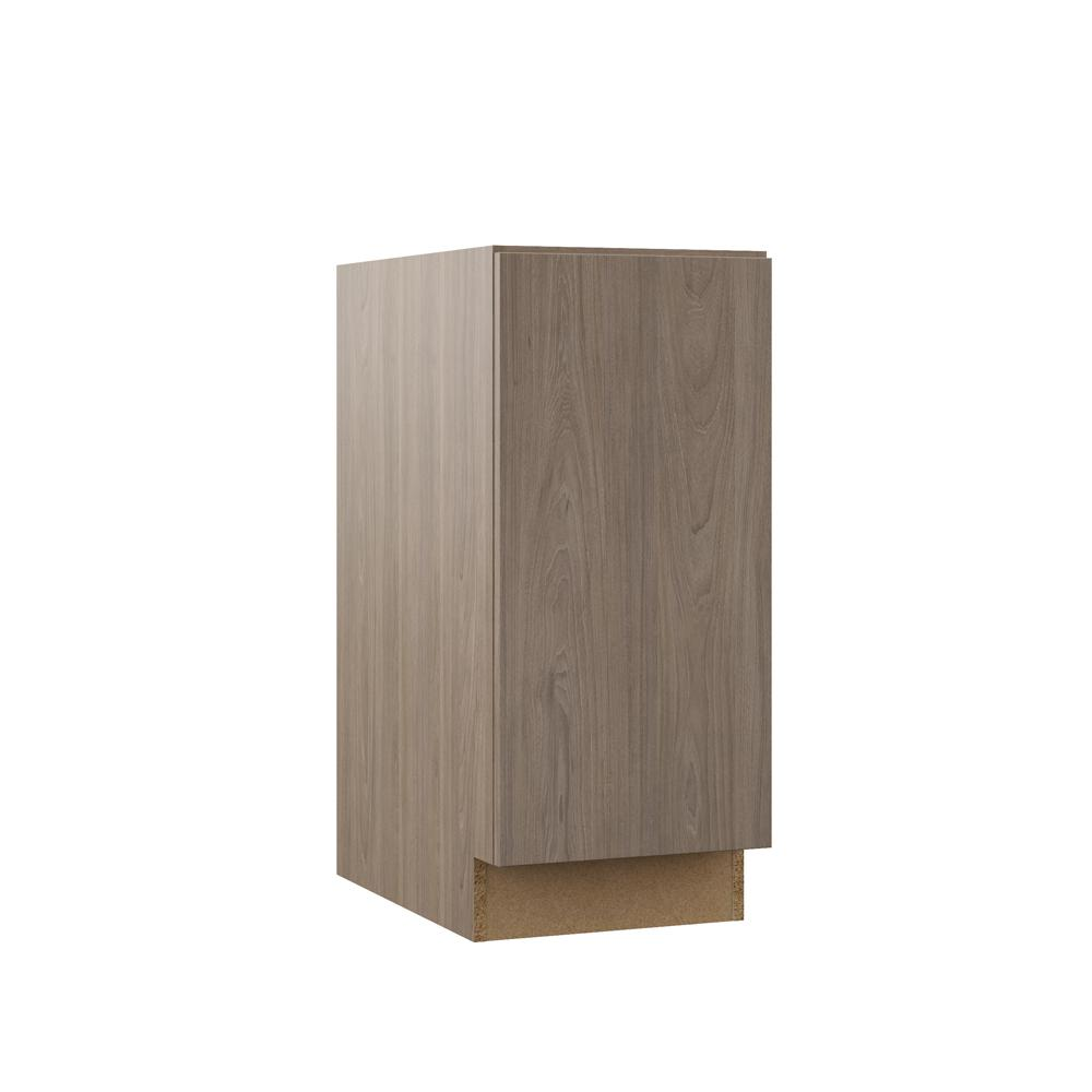 Edgeley Embled 15x34 5x23 75 In Full Height Door Base Kitchen Cabinet Driftwood