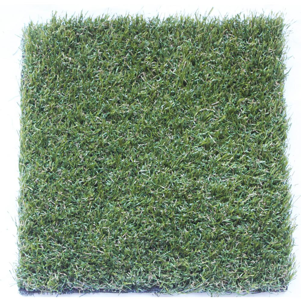 TrafficMASTER TruGrass Emerald Gold 12 ft. x 75 ft. Artificial Grass Synthetic Lawn Turf