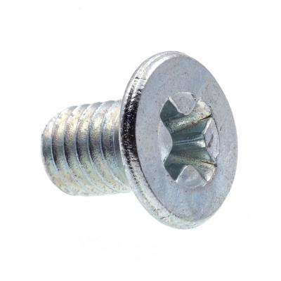 M3-0.5 x 5 mm Metric Zinc Plated Steel Phillips Drive Flat Head Machine Screws (25-Pack)