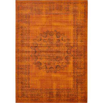 Imperial Cypress Terracotta 8' 0 x 11' 6 Area Rug