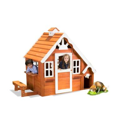 Me and My Puppy Wooden Playhouse