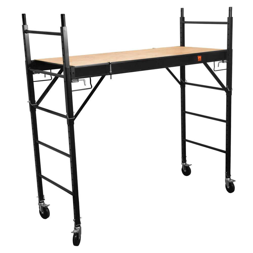 Excellent Details About Multi Purpose 1000 Lbs Scaffolding Rolling Steel 6 25 Ft Tall Ladder Workbench Lamtechconsult Wood Chair Design Ideas Lamtechconsultcom
