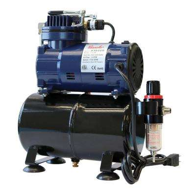 1/5 Hp Piston Compressor With Tank And Regulator