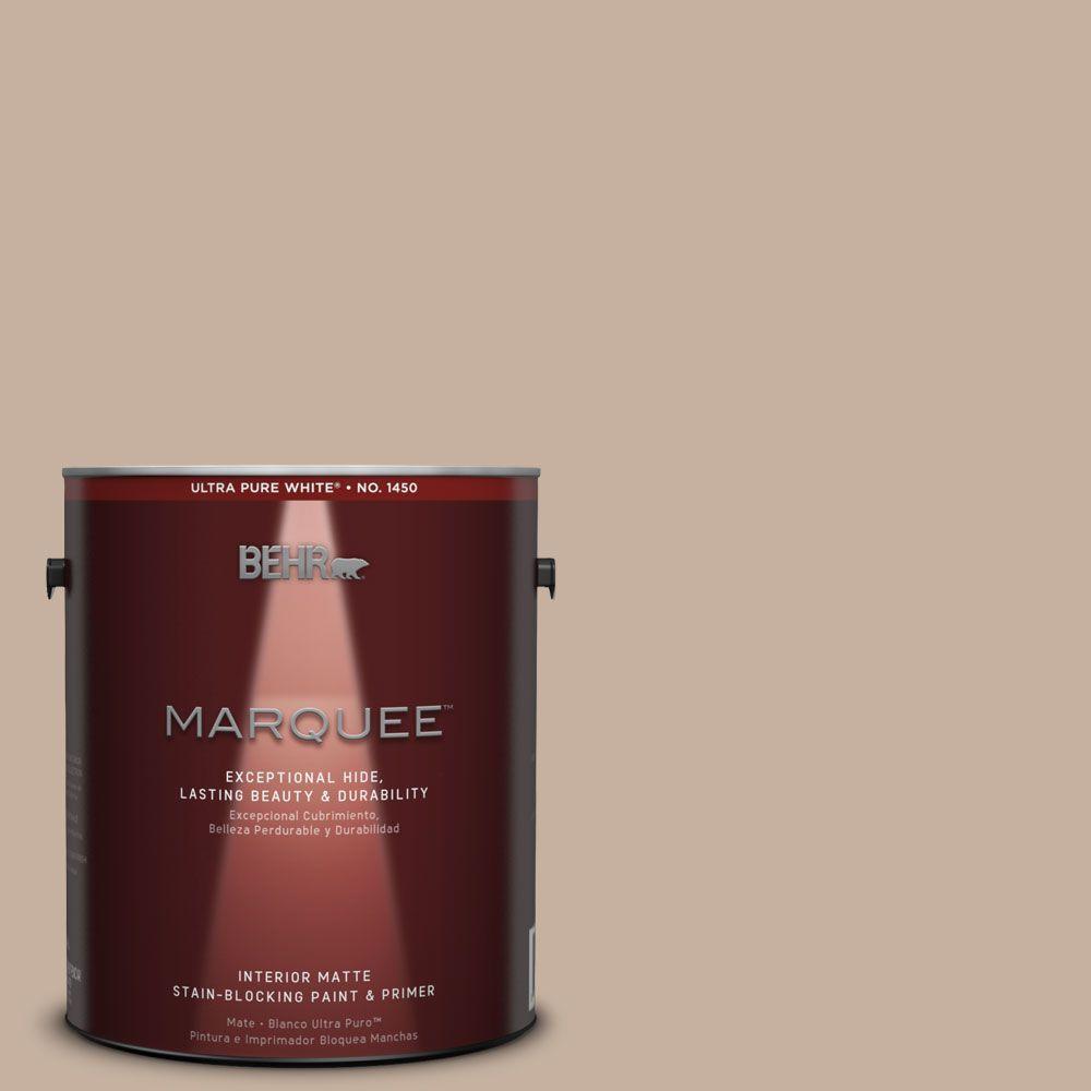 Behr Marquee 1 Gal Mq2 32 Mink Haze One Coat Hide Matte