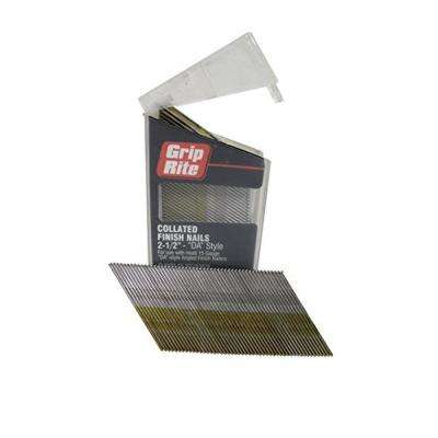2-1/2 in. x 15-Gauge 304 Stainless Steel Nails (1000-Pack)