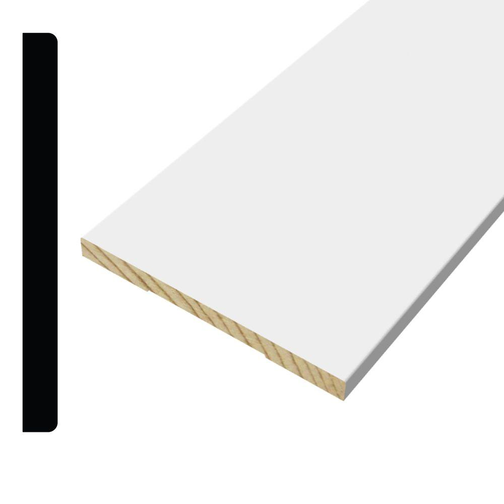 WM 512 1/2 in. x 5-1/2 in. Pine Primed Finger-Jointed Base