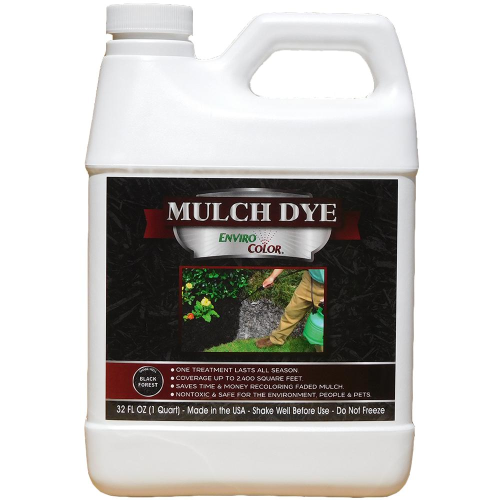2,400 sq. ft. Black Forest - Black Mulch Colorant Concentrate