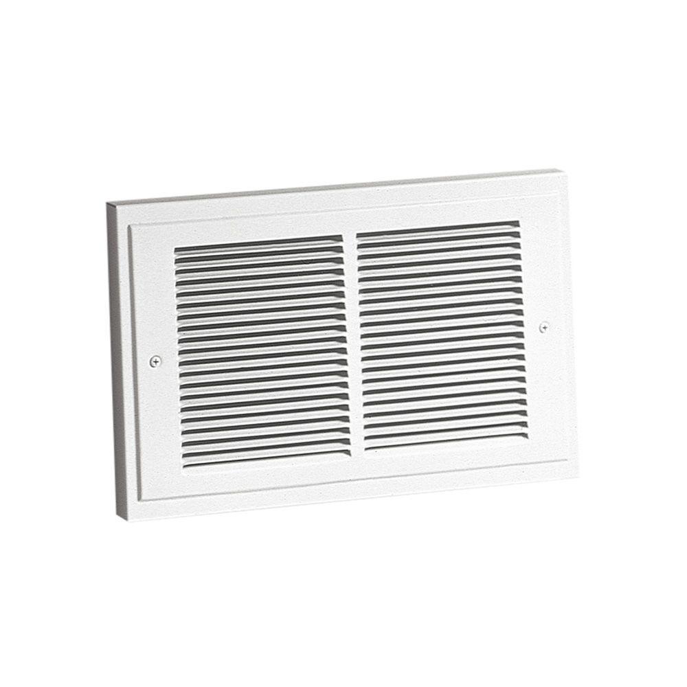 Broan 14-19/64 in. x 9-19/64 in. 1,500-Watt Wall Heater in White