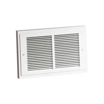 14-19/64 in. x 9-19/64 in. 1,500-Watt Wall Heater in White