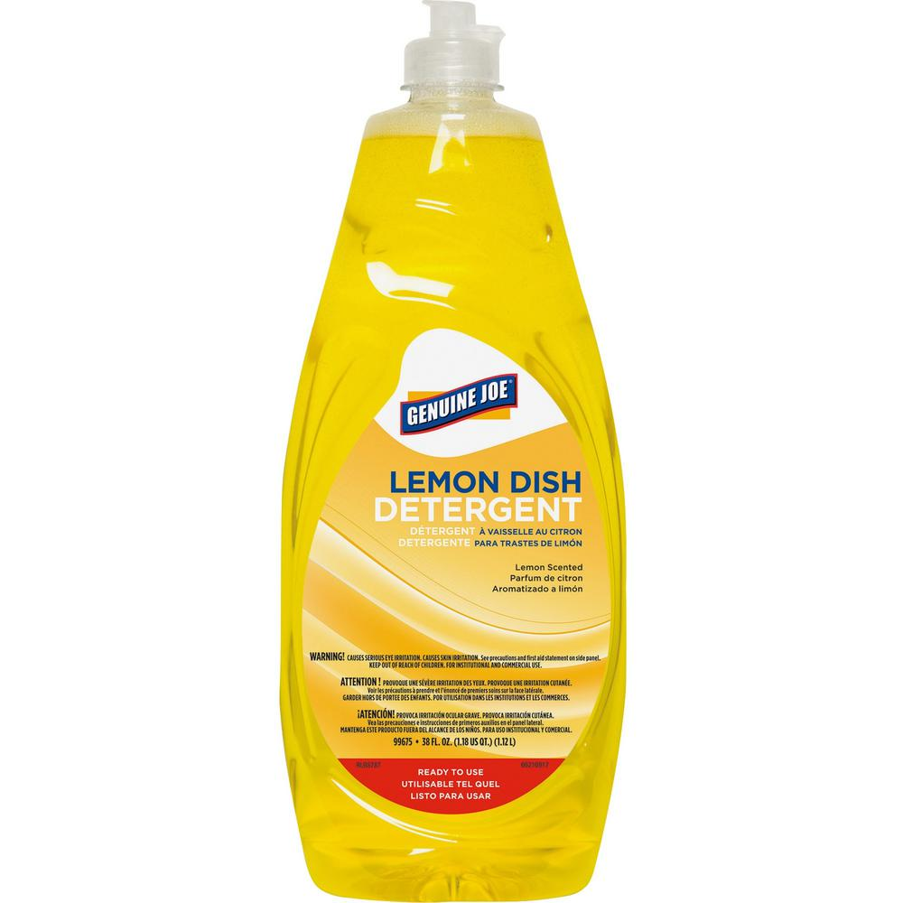 Genuine joe 38 oz lemon dish detergent gjo99675 the for Joe s bain industrial organization