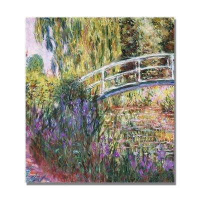 18 in. x 18 in. The Japanese Bridge IV Canvas Art