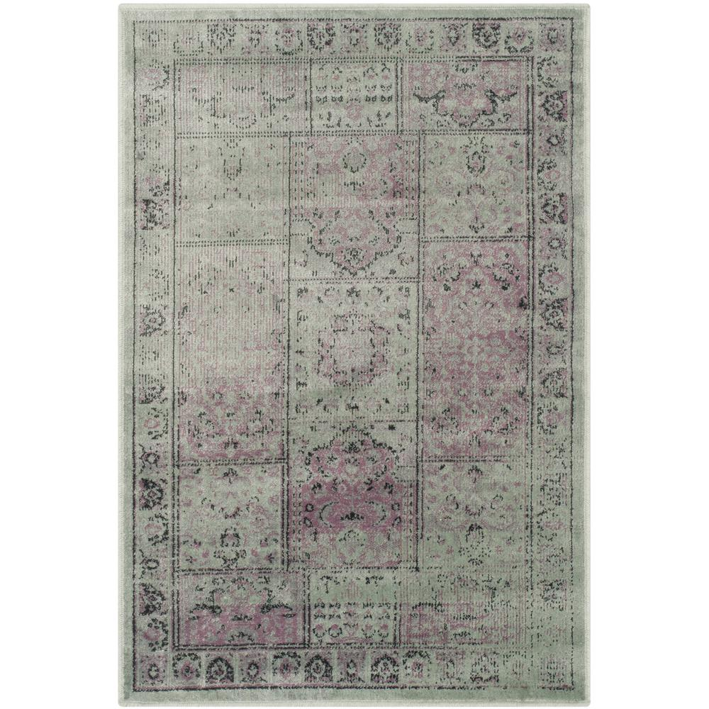 Vintage Amethyst 2 ft. 7 in. x 4 ft. Area Rug