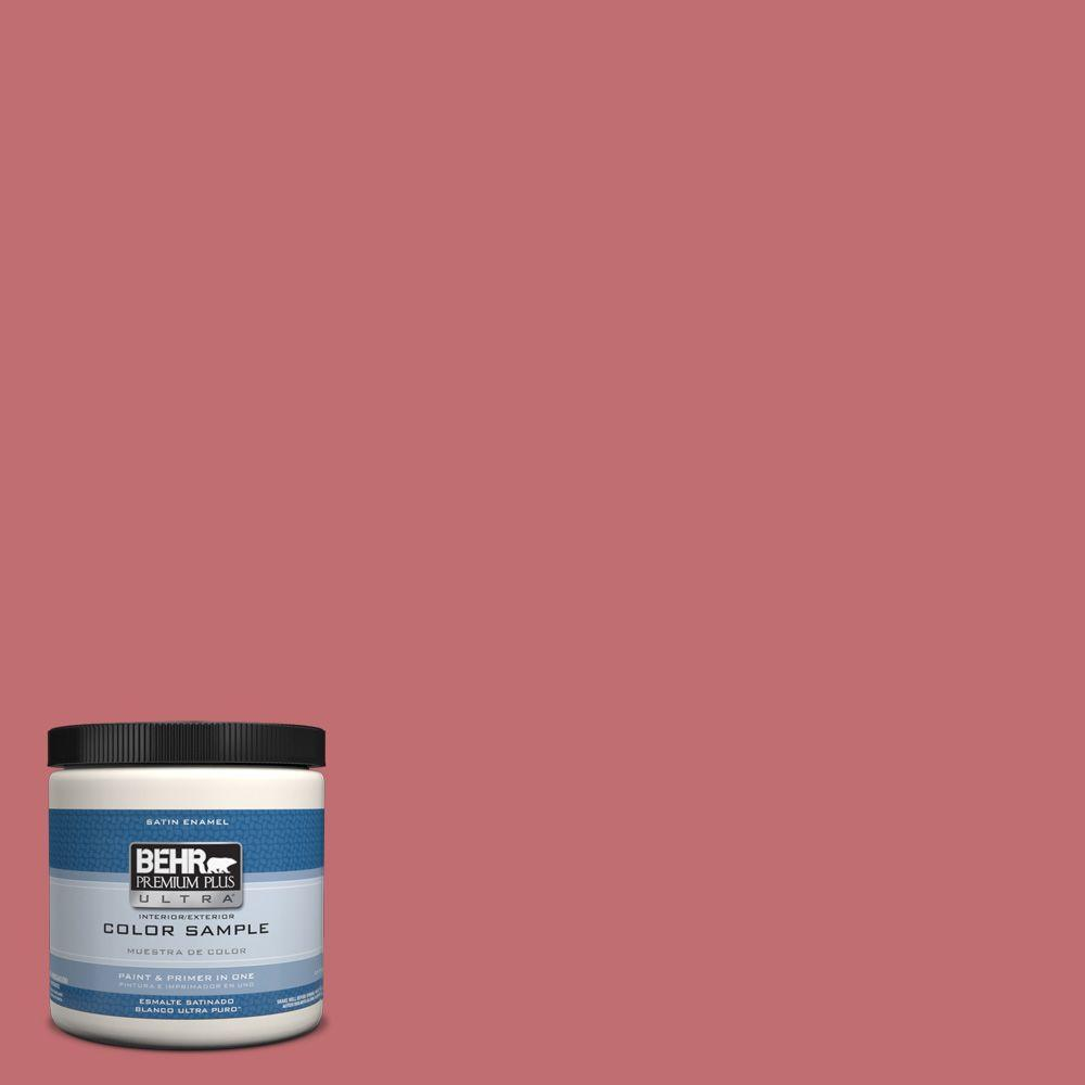 BEHR Premium Plus Ultra 8 oz. #HDC-SP14-8 Art House Pink Interior ...