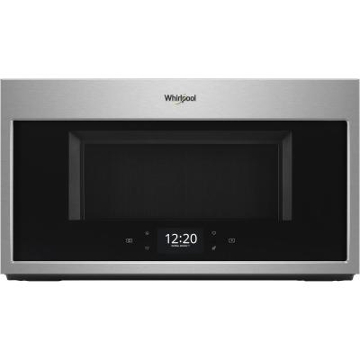 1.9 cu. ft. Smart Over the Range Microwave in Fingerprint Resistant Stainless Steel with Scan-to-Cook Technology