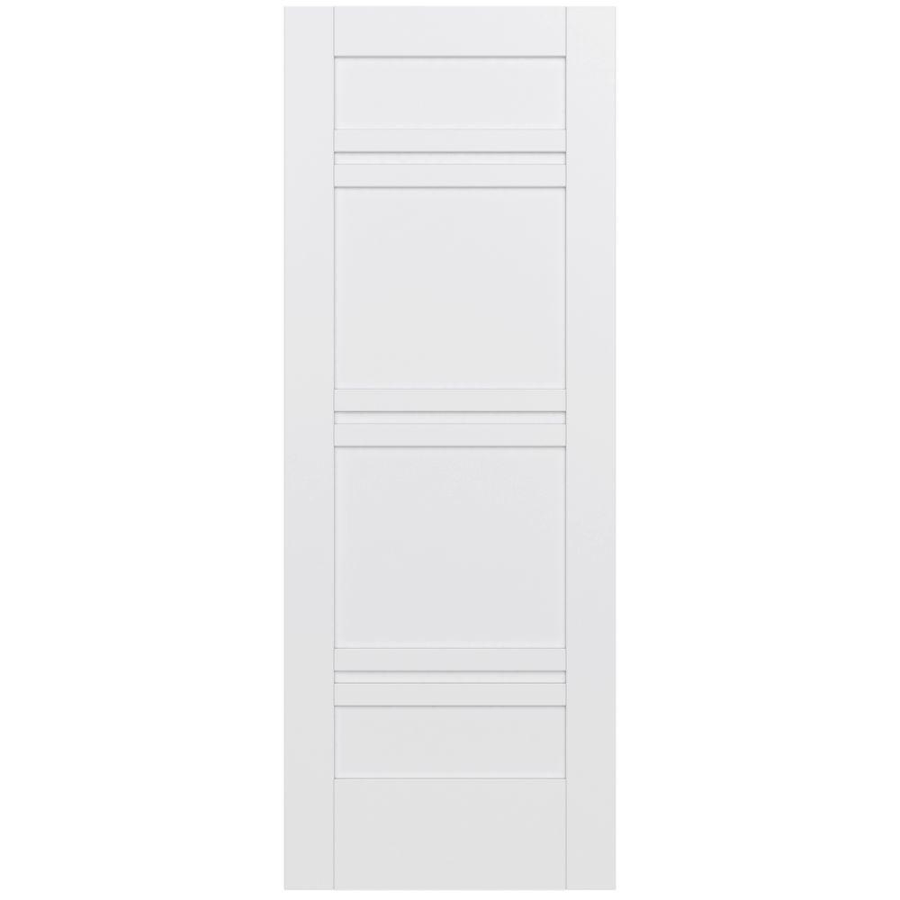 32 in. x 80 in. MODA Primed PMP1071 Solid Core Wood