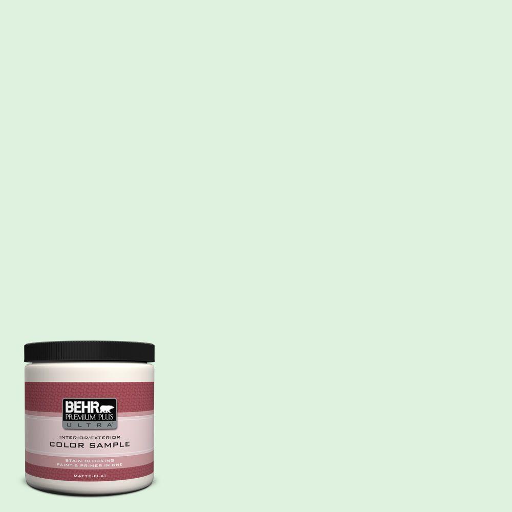 BEHR Premium Plus Ultra 8 oz. #P400-1 Mischievous Interior/Exterior Paint Sample