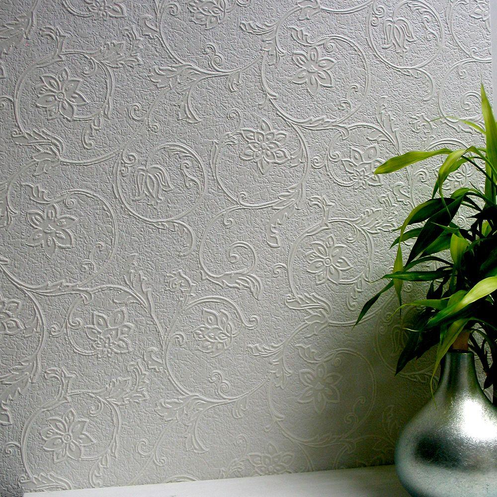 Anaglypta Heaton Paintable Textured Vinyl Wallpaper Sample