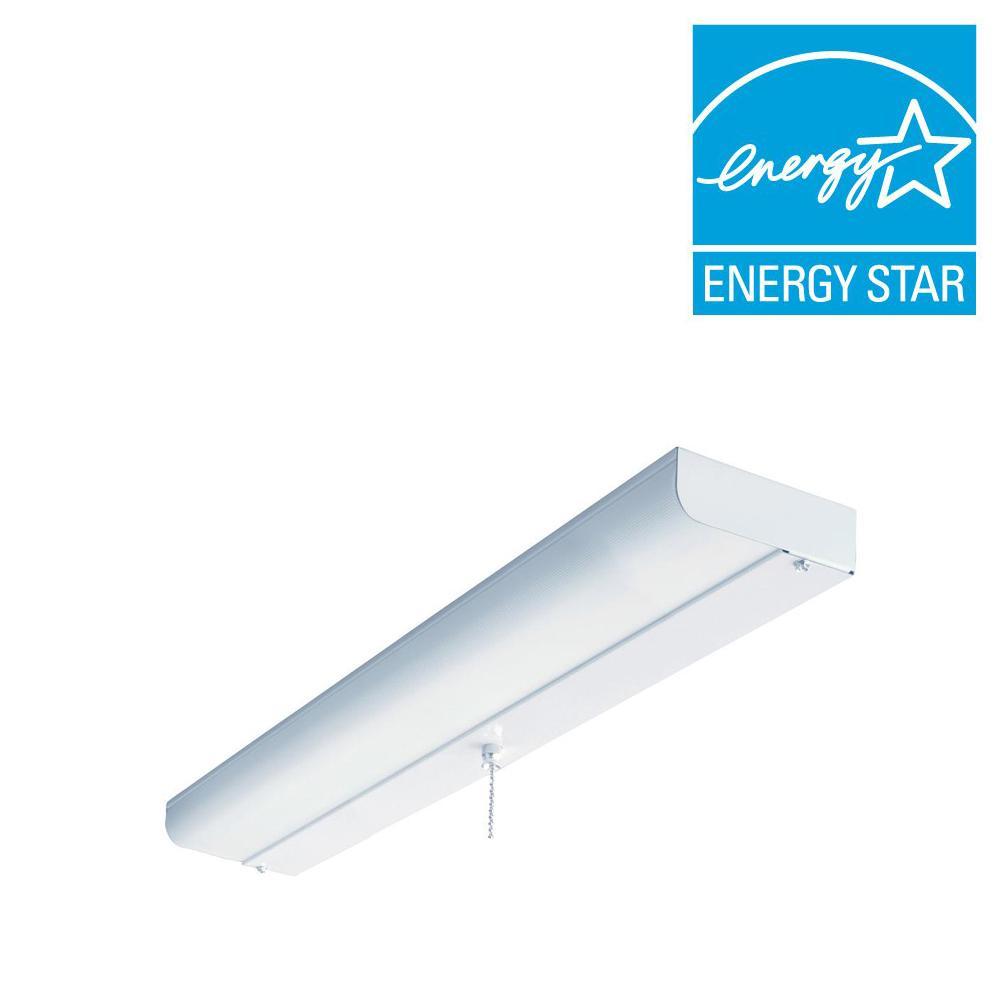Lithonia CUC8 17 120 LP S1 M4 1-Light White Fluorescent C...