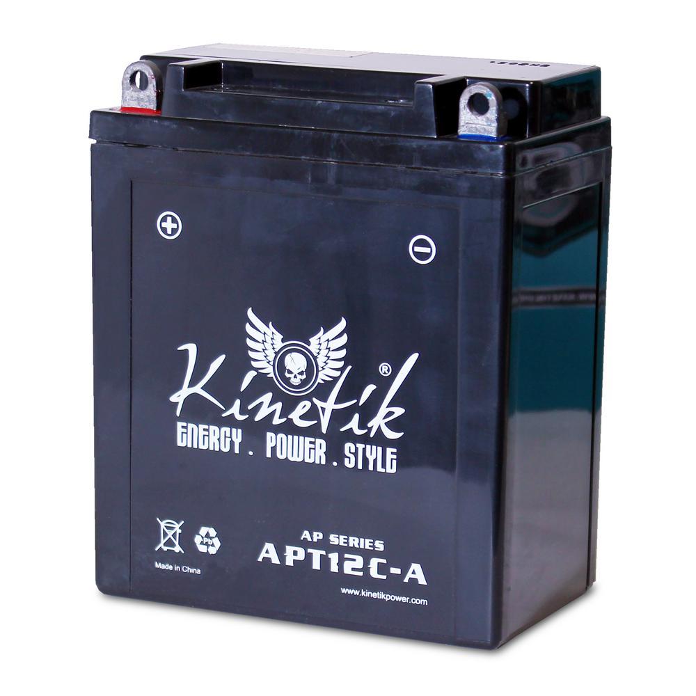 Sealed AGM 12-Volt 12 Ah Capacity F Terminal Battery