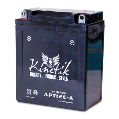 Sealed AGM 12-Volt 12 Ah Capacity F Terminal Battery