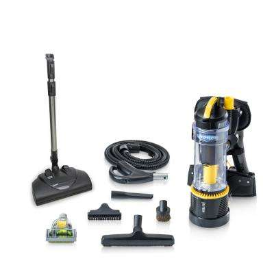 2.0 Commercial Bagless Backpack Vacuum Commercial Power Nozzle Kit