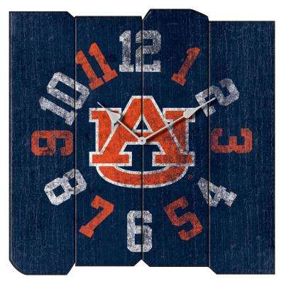 Auburn University Vintage Square Clock